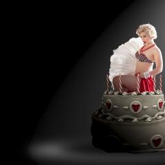 PinUp-aus-Torte